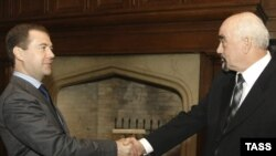 Igor Smirnov primit de președintele rus Dimitri Medvedev în martie 2009