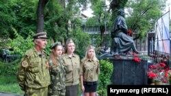 Святкування дня народження Пушкіна в окупованому Сімферополі, 5 червня 2015 року
