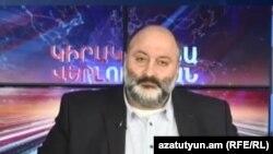 Вараздат Карапетян в студии Азатутюн ТВ