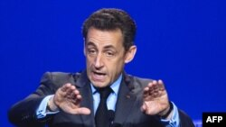 Францускиот претседател Никола Саркози