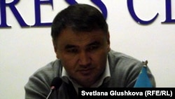 Берик Жагипаров, журналист и гражданский активист из Жезказгана.
