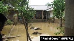 Vërshime në veri të Taxhikistanit