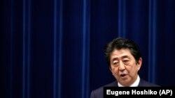 Kryeministri japonez, Shinzo Abe.