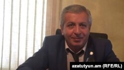 Armenia -- The ex-governor of Vayots Dzor, Sergei Bagratian, 25Sep2012.