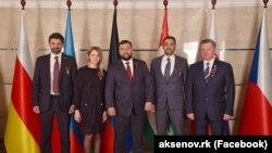 Козенко, Поклонская, Пушилин и Белавенцев отмечают «пятилетие ДНР»