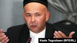 Активист Мурат Телибеков, называющий себя главой Союза мусульман Казахстана.