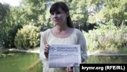 Qırımtatar şairesi Aliye Kenjaliyeva