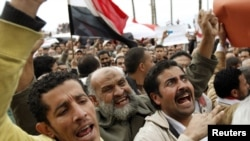 Демонстрация в Александрии. 4 февраля 2011 г.