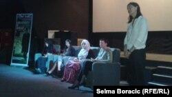 "Razgovor sa protagonistima filma ""Justice in action"", Sarajevo"