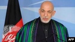 Хамид Карзай, президент Афганистана. Брюссель, 23 апреля 2013 года.