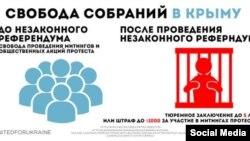 Инфографики посольства США в России о судьбе Крыма после оккцпации