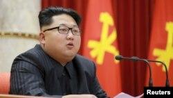 Ким Чен Ын, глава Северной Кореи.