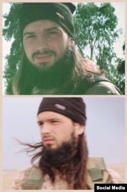 An image from an Islamic State account on VKontakte showing a man believed to be Abu Abdullah al-Firansi.