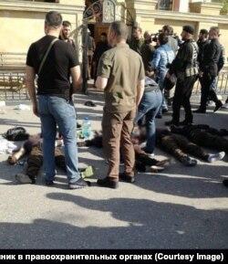Уничтоженные террористы, напавшие на церковь Архангела Михаила в Грозном, 19 мая 2018 года