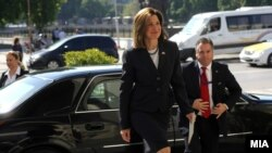Американската амбасадорка во Македонија, Кејт Брнз