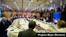 ევროკავშირის ლიდერები სამიტზე ბრიუსელში
