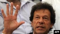 د پاکستان د تحریک انصاف ګوند مشر عمران خان.