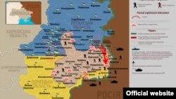 Кто кого. Карта боевых действий на востоке Украины. Состояние на 18 июля