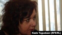 Малгожата Марчинкевич, депутат польского парламента. Алматы, 15 февраля 2013 года.