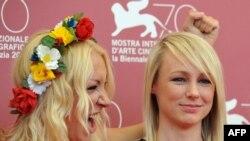 کیتی گرین و اینا در جشنواره ونیز در سپتامبر گذشته