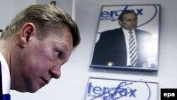 Керівник російського «Газпрому» Олексій Міллер, архівне фото