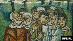 Jedan od antičkih mozaika iz Ravene, Fotografije uz tekst Maja Nikolić