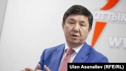 Темир Сариев, бывший премьер-министр Кыргызстана, председатель партии «Ак Шумкар». Бишкек, 22 сентября 2016 года