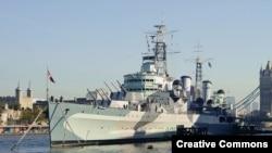"""Крейсер """"Белфаст"""", на котором служил Джон Харрисон, ныне – военный музей"""
