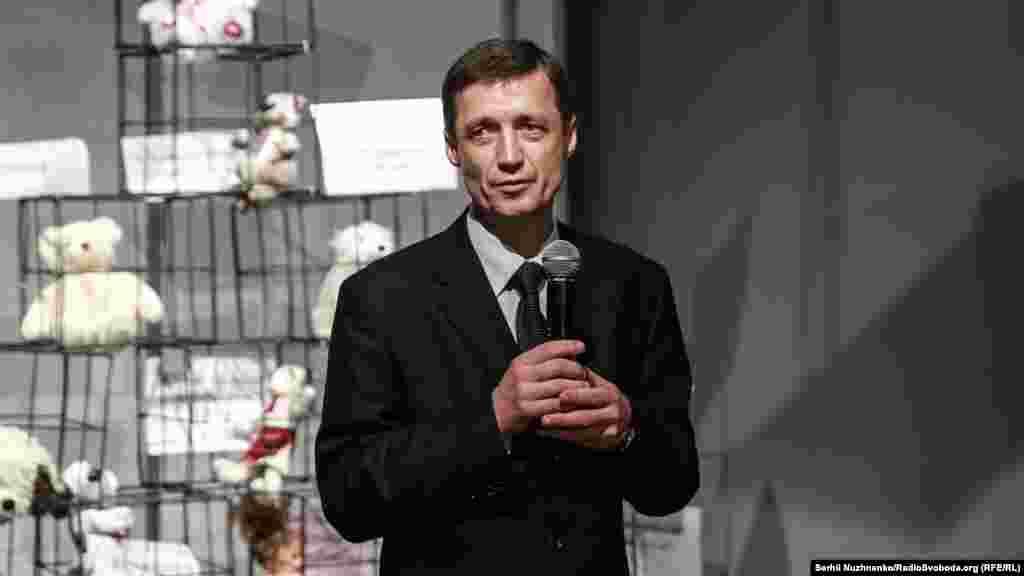 Ігор Гриб, батько викраденого в Білорусі російськими спецслужбами Павла Гриба