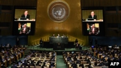 The UN's General Assembly in session (file photo)