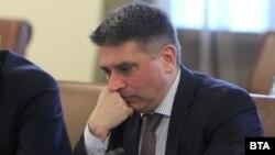 Данаил Кирилов на заседание на Министерския съвет
