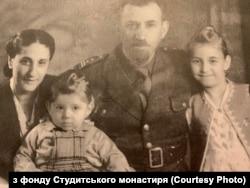 Семья раввина Давида Кагане, спасенная братьями Шептицкими