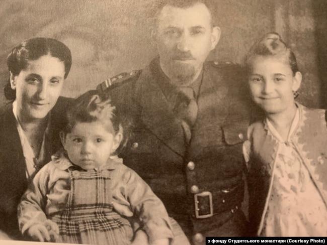 Родина рабина Давида Кагане, врятована братами Шептицькими