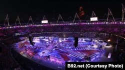 На церемонии закрытия Олимпиады в Лондоне