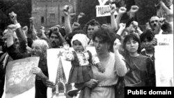 Акція кримських татар у Москві, 1987 рік