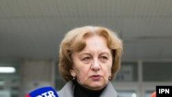 Zinaida Greceanîi în fața presei
