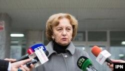 Zinaida Greceanîi, președinta PS, la Chișinău