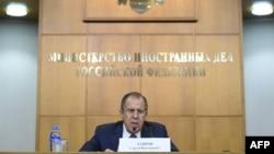 Orsýetiň daşary işler ministri Sergeý Lawrow, Moskwa, 26-njy ýanwar, 2016