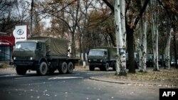У день «виборів» до Донецька прибули для сепаратистів нові колони військової техніки, 2 листопада 2014 року