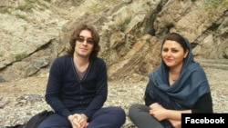 آرش صادقی و گلرخ ابراهیمی ایرایی