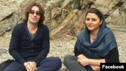 Iran-- Arash Sadeghi and Golrokh Iraee