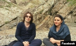 Human rights defender Arash Sadeghi and his wife Golrokh Ebrahimi Iraee