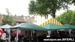 Первый армянский фестиваль под открытым небом в Лондоне, 12 июня 2011 г.