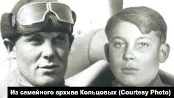 Братья Владимир и Аркадий Кольцовы