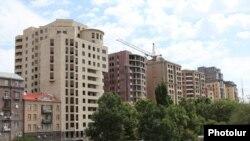 Yerevanın mərkəzi. İllüstrasiya