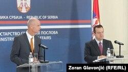 Stefan Blok i Ivica Dačić, 4. novembar 2019.
