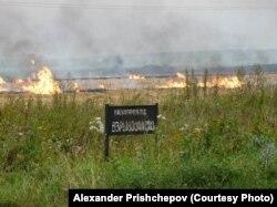 Сжигание пожнивых остатков в средней полосе России, Рязанская область