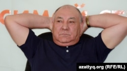 Газиз Алдмажаров, бывший председатель Коммунистической партии Казахстана.