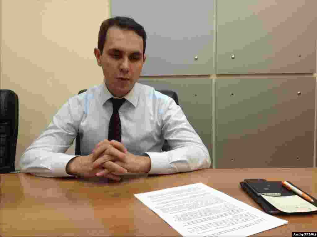Tatarstan -- Ildar Mukhometov. Deputy Minister of Education of the Republic of Tatarstan