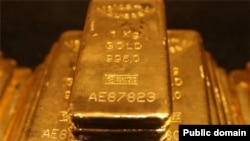 USA -- Gold bars created by Agnico-Eagle
